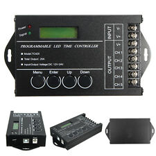 20A Programmable LED Time Dimmer RGB Controller TC420 DC12V/24V 5 Channel