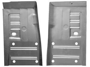 """Long Front Floor Pan 64-73 Mustang 69-73 Cougar 39""""Long rust repair panels PAIR"""