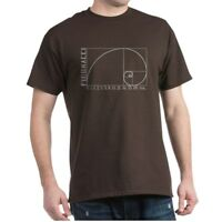 CafePress Fibonacci Spiral T Shirt 100% Cotton T-Shirt (1221113181)