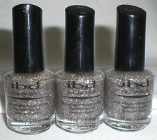 Ibd Nail Lacquer Polish Folklorical Glitter Sparkle Full Size 5 Oz Lot Of 3