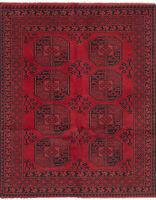 """Hand-knotted Carpet 4'11"""" x 6'3"""" Khal Mohammadi Traditional Wool Rug"""