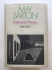 Signed May Sarton COLLECTED POEMS 1930-1973 - 1974 HC/DJ 1stEd