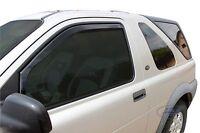 Land Rover Freelander 3 DOOR  1998-2006 Front wind deflectors 2pc TINTED HEKO