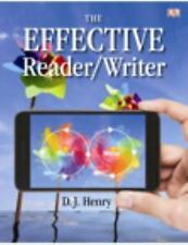 NEW The Effective Reader Writer My Skills Lab Access Code by D.J. Henry Paper