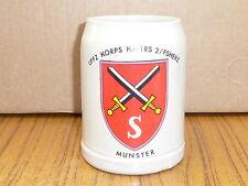 BW Bierkrug Kampftruppenschule 2 Fachschule d Heeres für Erziehung Munster (180)