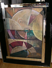 Original Richard Hall, Hand Work 3D Mixed Media Collage Relief Contemporary Art