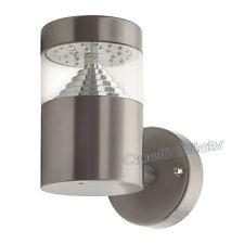 APPLIQUE A PARETE 32 LED SMD 3W IN ACCIAIO PER GIARDINO TERRAZZO LAMPADA 18600
