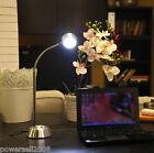 Modern Design Iron Chrome 3*Lights Height 38 CM USB Interface Table Light/Lamp