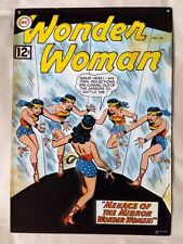 DC Comics Wonder Woman #134 - 3D Decorative Tin Metal Vintage Wall Art 9 x 13''