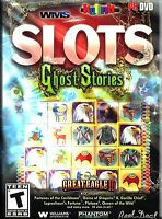 WMS SLOTS GHOST STORIES PC 18 GAMES GREAT EAGLE II DISC & ARTWORK ONLY NO CASE