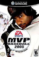 MVP Baseball 2005 CIB (Nintendo GameCube, 2005) Cleaned - Tested - Authentic