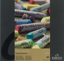 REMBRANDT - ARTISTS SOFT PASTELS - 45 FULL LENGTH - GENERAL SELECTION