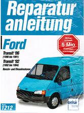 Buch Reparaturanleitung Ford Transit '86  '92 Benziner + Diesel Band 1212