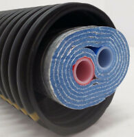 """Outdoor Wood Boiler Five Wrap Insulated 1"""" Non O2 Barrier Pex Tubing-Pipe"""