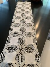 Gorgeous Vintage Table Runner Nwot 53 X 13