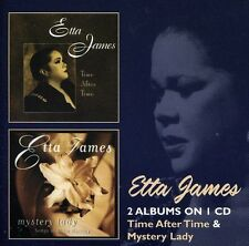 Time After Time/Mystery Lady - 2 DISC SET - Etta James (2012, CD NUOVO)