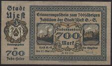 [21586] - NOTGELD UJEST (heute: Ujest), Stadt, 700 Mark, 27.05.1923, Müller A360