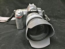 Nikon D70 Outfit With Original Box and Inserts Vintage Photography Camera USED