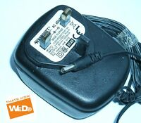 WESTCOTT KA23D090100015K AC/DC POWER ADAPTER 9V 1.0A UK PLUG