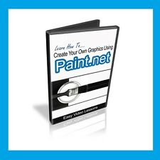 How to use Paint.NET to create stunning graphics. Video Tutorial Training on DVD