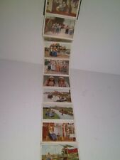 c1900's Dutch Eiland Marken Netherlands Holland Postcards Accordion book of 12