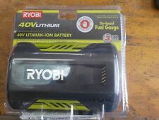 BRAND NEW RYOBI US 836-486 LITHIUM-ION 40V BATTERY W/ FUEL GAUGE