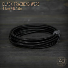 American Bonsai Black Aluminum Training Wire  - 4.0mm - 100 grams - 10ft - 100g