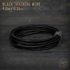 American Bonsai Black Aluminum Training Wire  - 4.0mm - 100 grams - 10ft - 100g