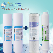 """10""""x2"""" inline Filter 5μm PP,Carbon Replacement for Watts Premier 500124 WP-4V"""