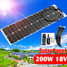 400W 2x200W 18V Waterproof Solar Panel Battery Charger For Car Boat Junction Box