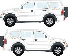 Mitsubishi Shogun Pajero 24 VALVE V6 3500 decals stickers x2