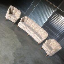 divano curvo poltrone midcentury old vintage Sofà + Armchairs anni 50 Gio Ponti?
