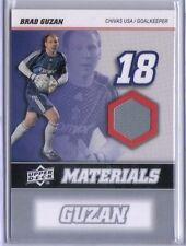 Brad Guzan 2008 08 Upper Deck UD MLS Materials Game Used Jersey #MM-2 Chivas USA