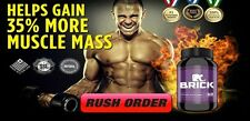 Explosive BRICK & TRIGGER XL Testo Boost STACK Ripped Muscle Boron L-Argenine