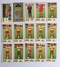Panini Football 83 Stickers x15 (unstuck with backs/badge) Watford