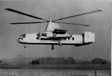 1957 Fairey Rotodyne first successful flight to London Press Photo