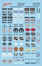 MuscleCar 1/18 DECAL streetracing DRIFT TUNING Strassenrennen ra13-18