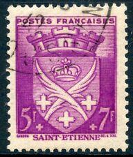 STAMP / TIMBRE FRANCE OBLITERE N° 564  BLASON / SAINT ETIENNE