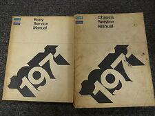 1971 Imperial LeBaron Chassis & Body Shop Service Repair Manual Hardtop 7.2L