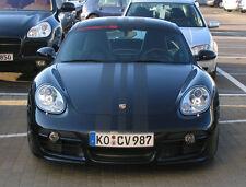 "Porsche 18"" Center Rally stripes Stripe Fit All Model Boxster Cayman 911 Cayenne"