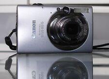 Canon IXUS 80 is/PowerShot sd1100 8.0mp cámara digital + 2gb + estuche-Plata