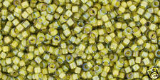 Toho 15/0 Inside Color Lstr Black Diamond Op Round Seed Bead 15-246 8 grams