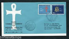 Ned. Antillen FDC E24_ 3M, met adres, Curacao Luchthaven ;