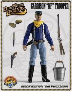 """Dime Novel Legends 1:18 scale (4"""") old west action figure Garrison Trooper"""
