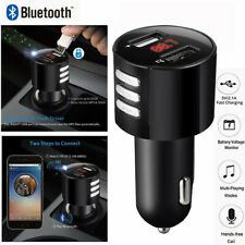 Bluetooth Car USB Charger FM Transmitter Wireless Radio Adapter MP3 Player 3.4A#