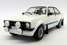 FORD ESCORT RS 1800 WHITE MK2 1:18 SCALE MODEL GREAT DETAIL CLASSIC DIECAST