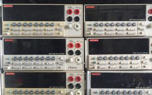 Keithley 2015 THD Digit Multimeter, Keithley 22015-P Audio Analyzing DMM, Random