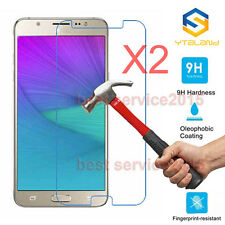 2Pcs 9H Premium Tempered Glass Screen Protector For Samsung Galaxy J7 Pro / J730