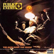 Public Enemy YO! BUM RUSH THE SHOW Debut Album DEF JAM RECORDINGS New Vinyl LP