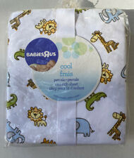 New Babies R Us Cool Fraus Percale Crib Sheet